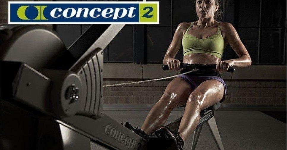 Гребной тренажер Concept 2 - простые и эффективные тренировки>